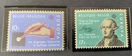 1982 - Europa, Geschiedenis  - Postfris/Mint - Unused Stamps