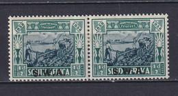 SOUTH WEST AFRICA 1938, SG# 105, Animals, MH - Südwestafrika (1923-1990)