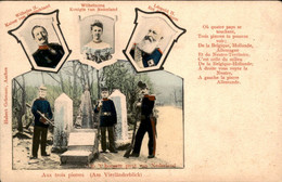 Vaals - Aken - Grenze - Kelmis - Moresnet - Aachen - Bleyberg - Vierländerblick - Neutral Gebiet - Aachener Wald - 1899 - Vaals