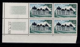 Coin Daté - YV 980 N** Cheverny Coin Daté Du 22.7.55 - 1950-1959