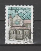 "FRANCE / 2014 / Y&T N° 4864 : ""Touristique"" (Abbaye De Pontigny - Yonne) - Choisi - Cachet Rond - Gebruikt"