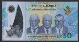 Namibia 30 Dollar 2020 Pnew UNC - Namibia