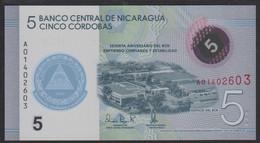 Nicaragua 5 Cordobas 2019 Pnew UNC - Nicaragua