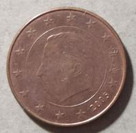 2005  - BELGIO  - MONETA IN EURO - VALORE 5 CENTESIMO - USATA - Belgien