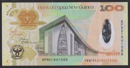 Papua New Guinea 100 Kina 2008 P37 UNC - Papua New Guinea