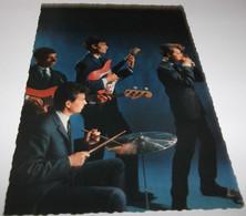 CARTE POSTALE DISQUE  VOGUE 860 ...LES  CYCLONES - Cantantes Y Músicos