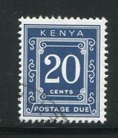 KENYA- Taxe Y&T N°3- Oblitéré - Kenya (1963-...)