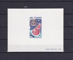 NEW CALEDONIA 1981, Mi# 665, Deluxe Block, Space - Briefe U. Dokumente