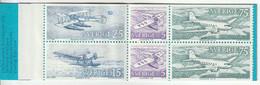 SUEDE - CARNET - N°C740 ** (1972) Avions - 1951-80
