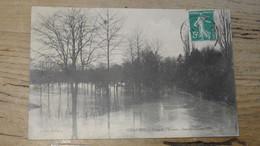 CHAUMES : Crue De L'Yerres, Janvier Février 1910 ................ 201101d-4209 - Otros Municipios