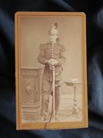 Photo CDV Marin à Verdun - Militaire, Cavalier Régiment Dragons, Circa 1880 L547 - Ancianas (antes De 1900)