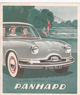 Panhard  Dyna 57 - Pubblicitari