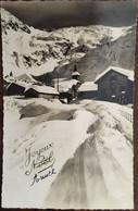 Cp De 1943, Joyeux Noël, Photo Paysage Enneigé, Village, Montagne, éd Gani (Véritable Photo), écrite - Andere