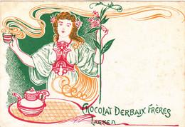 "Chocolat ""Derbaix Frères""  Laeken - Pubblicitari"