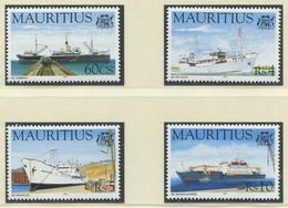MAURITIUS / MiNr. 822 - 825 / Schiffe / Postfrisch / ** / MNH - Boten