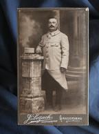Photo CDV Lozach à Landerneau - Militaire, Guerre 1914-1918 Circa 1915 L548 - Oorlog, Militair