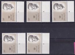 Belgie Plaatnr YT** 2127 - ....-1960
