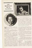 Les Droleries De La Laideur /  Article,  Pris D`un Magazine / 1910/1911 - Unclassified