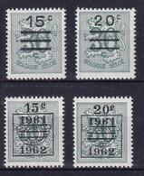 Belgie Postfris YT** 1172-1173 A - Neufs