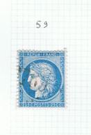 Variété Suarnet N°59 - 1871-1875 Ceres