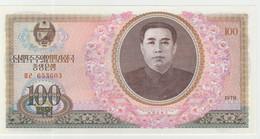North Korea 100 Won 1978 P-22a UNC - Korea, North