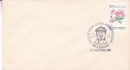 ARGENTINA. ROBERTO DE VICENZO, 50 AÑOS ACTIVIDAD PROFESIONAL. GOLF. 1988, HURLINGHAM SPC ENVELOPPE.- LILHU - Golf