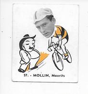 Mollin MauritsBaanreuzen-Géants De La Route-nr 57-Belgian Chewing Gum Cy S.A.-Antwer2 - Wielrennen
