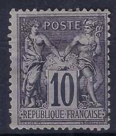 FRANCE:  Le Y&T 89 Neuf(*) - 1876-1898 Sage (Type II)