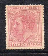 APR994 - SPAGNA 1879, Alfonso XIII 5 Cent N. 185  *  (2380) - Nuevos