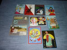 Lot Carte Postale Illustrateur  Patrick Hamm  Lot De 10 Cartes - Hamm