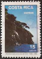 COSTA RICA 1992 The 450th Anniversary Of Discovery Of Cocos Island. USADO - USED. - Costa Rica