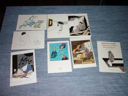 Lot Carte Postale Illustrateur Tomi Ungerer 8 Cartes - Ungerer