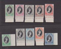 COLLECTION  Of  Coronation   1953   10 Values    MNH - Verzamelingen (zonder Album)
