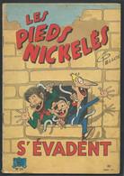 N°26  -  Les Pieds Nickelés S'évadent  ( 1er Edition ) Car 20301 - Pieds Nickelés, Les