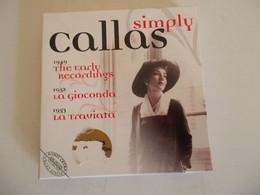 COFFRET 6 CD SIMPLY CALLAS - Classic