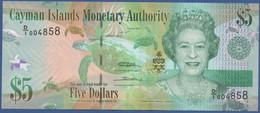 CAYMAN ISLES - P.39a –  5 Dollars 2010  UNC Prefix D/1 - Cayman Islands
