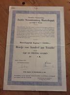 Zuider Stoomtramweg Maatschappij - Breda - 1952 - Railway & Tramway