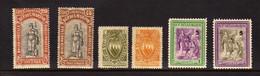 Saint-Marin (1918-47) -  6 Timbres  A Surtaxe - Neufs**/* - Ongebruikt