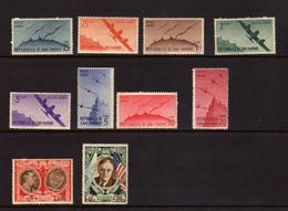 Saint-Marin (1940-47) -  Poste Aerienne -  Neufs**/* - Luchtpost