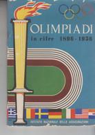 OLIMPIADI OLYMPIC GAMES  OLIMPIADI IN CIFRE 1896 - 1956 - Sports