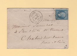 Paris - Etoile 29 - R. Pascal - 12 Fevr 1865 - 1849-1876: Classic Period