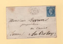Paris - Etoile 22 - R. Du Helder - 18 Oct 1864 - 1849-1876: Classic Period
