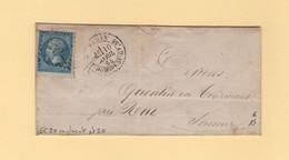 Paris - GC 20 Remplacant Etoile 20 - R. St Domque St Gn, 56 - 10 Avril 1865 - 1849-1876: Classic Period