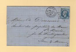 Paris - Etoile 12 - Bt Beaumarchais - 23 Fevr 1865 - 1849-1876: Classic Period