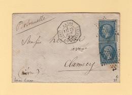 Paris - Etoile 3 - Pl. De La Madeleine - 22 Nov 1864 - Levee Exceptionnelle - 1849-1876: Classic Period