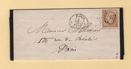 Paris - Etoile 1 - Pl De La Bourse - 11 Janv 1865 - 1849-1876: Classic Period