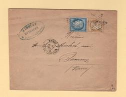 Paris - Etoile 1 - Pl De La Bourse - 13 Mai 1875 - 1849-1876: Classic Period