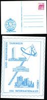 UNO BUILDINGS International Year Of Peace Germany STO Postal Card PP106 C2/038 Moers 1986 - ONU