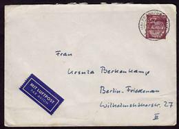 25 Pfg. Heuss Einzelfrankatur Bundesrepublik 1957 (b243 - Unclassified