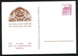 FENSTER 3 HASEN KREUZGANG DOM Paderborn Bund PP106 C2/045 1986 - Iglesias Y Catedrales